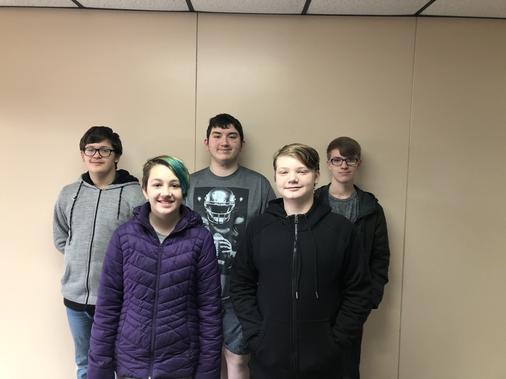 Middle School academic team advances to regionals with wins over Asher and Calvin