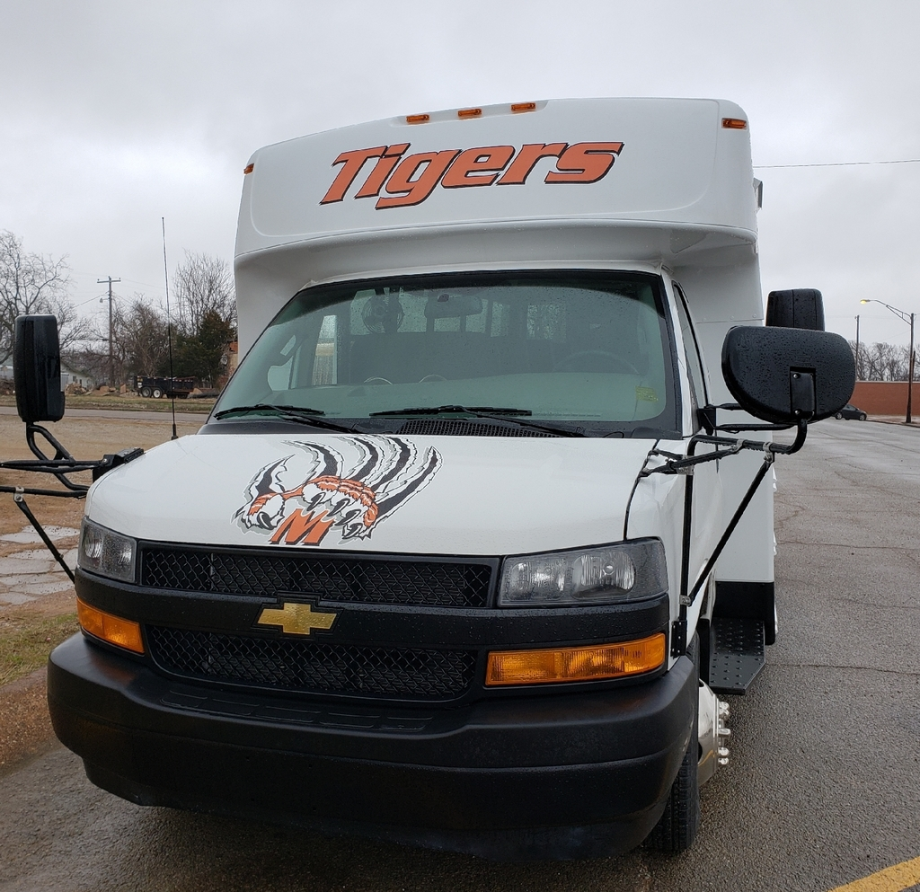 Maud Tigers new bus!