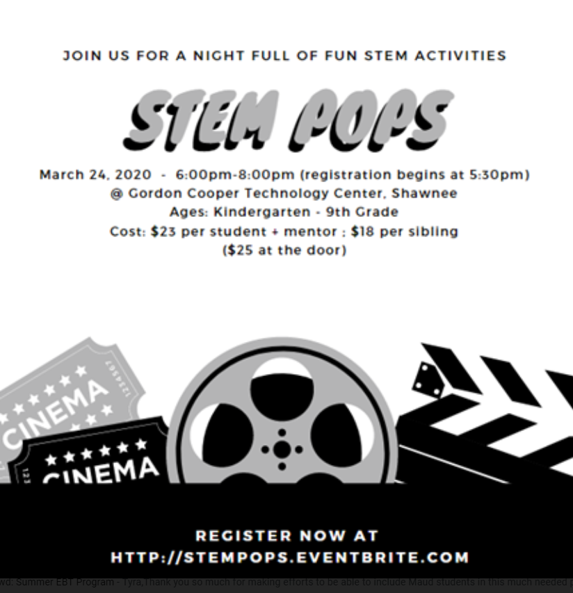 Stem Pops Event