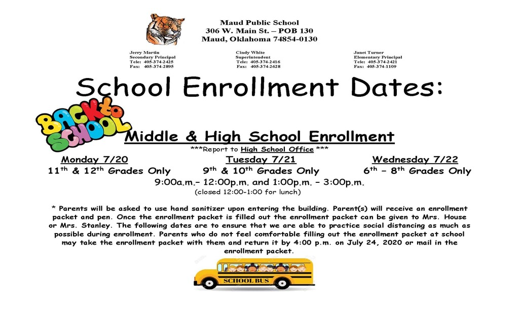 Middle & High School  Enrollment